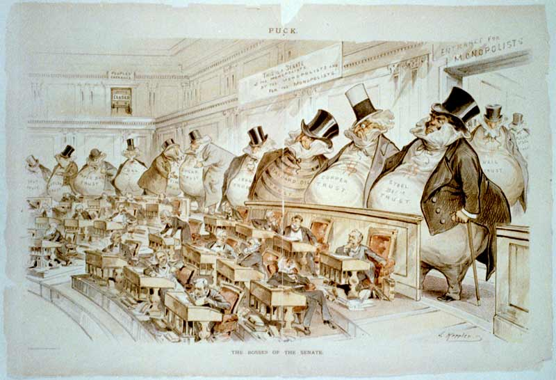 The Bosses of the Senate (1889) - Joseph Keppler